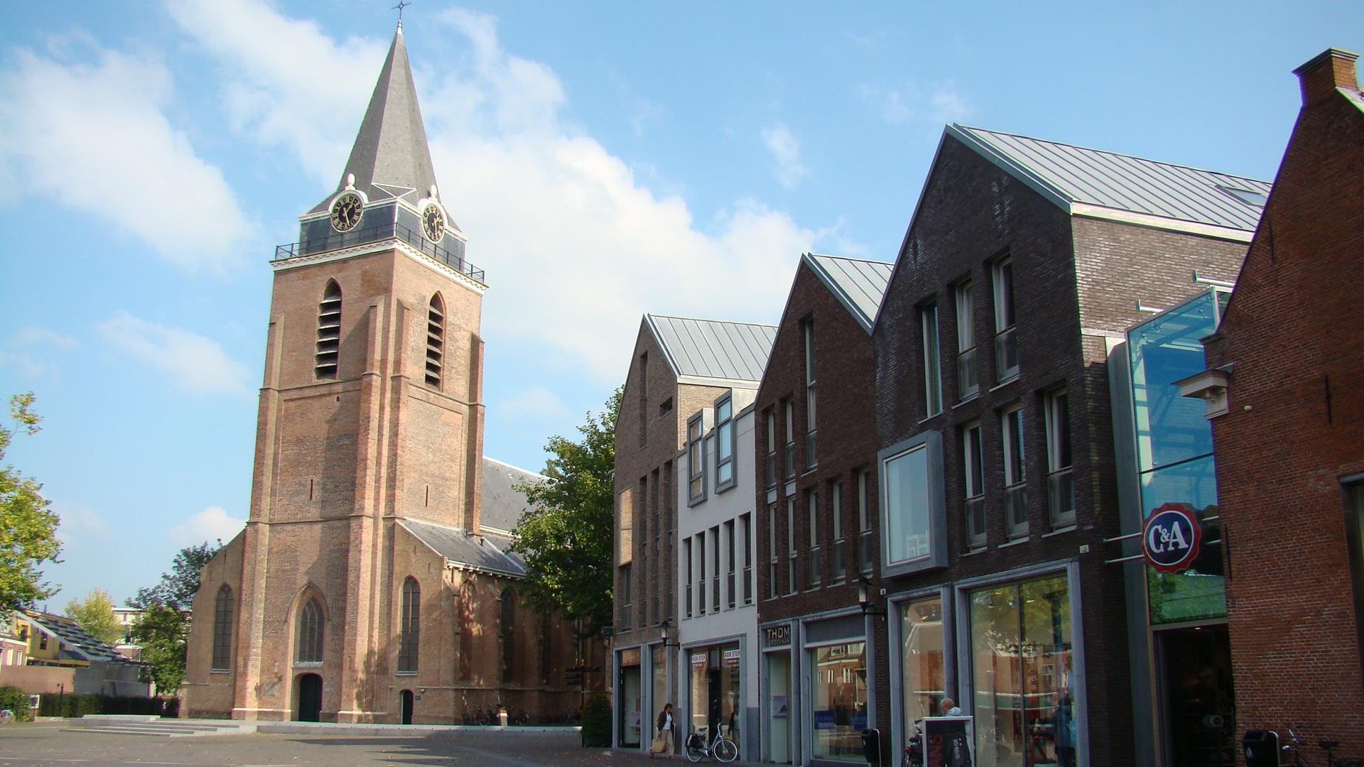 Petruskerk Woerden. Kerstnachtdienst mmv Oriolus
